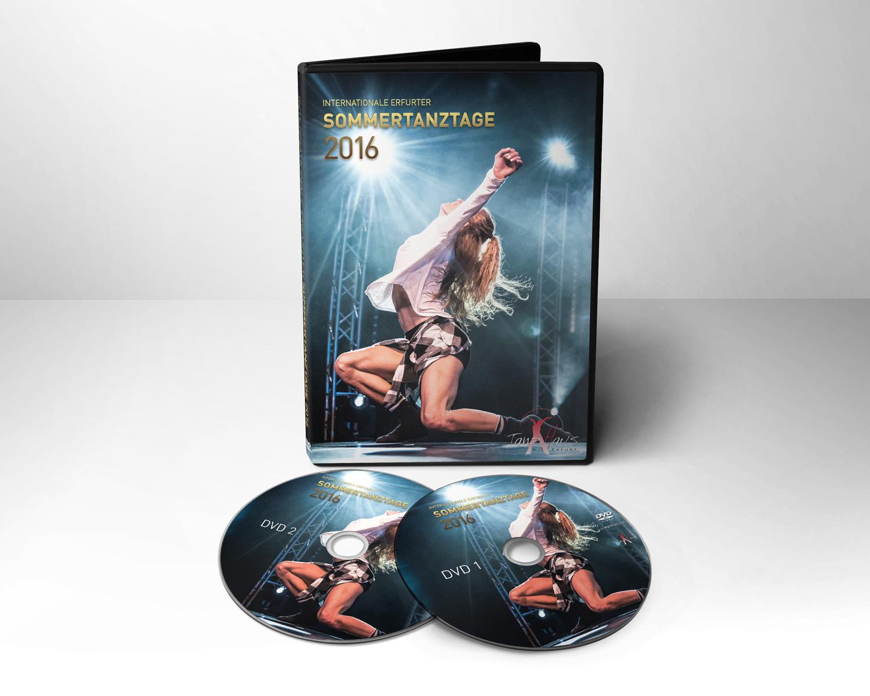 Covergestaltung DVD Internationale Sommertanztage 2016